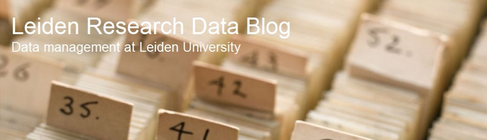 Leiden Research Data Blog